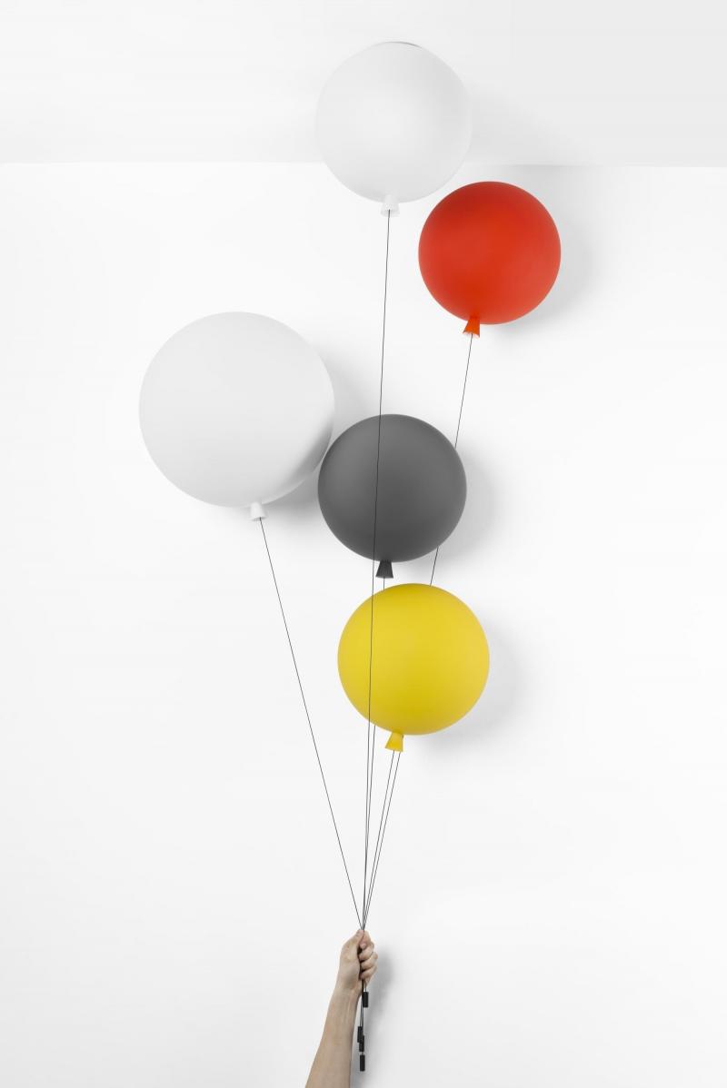 Потолочный светильник воздушный шар, матовое стекло