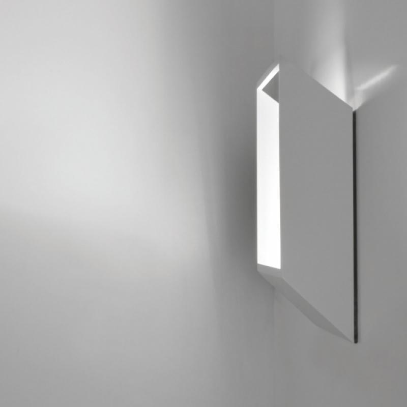 Настенный накладной светильник-квадрат, Бельгия