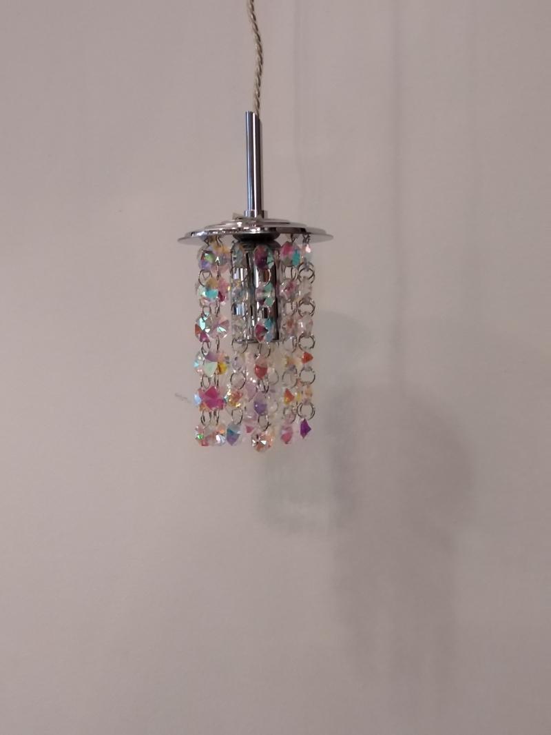 Подвесной светильник дизайнерский, хрустальный, Италия