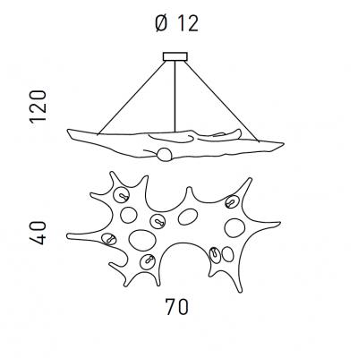 Светильник SP1057/70S