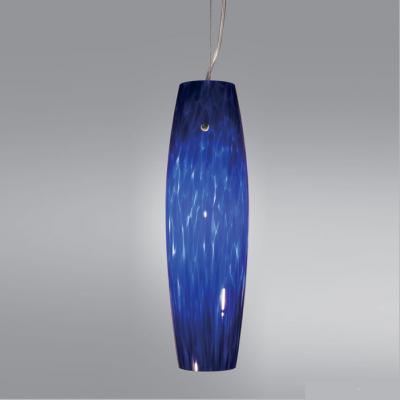 Подвесной светильник из синего стекла, Германия