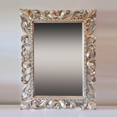 Настенное зеркало в роскошной раме, Италия