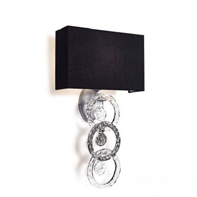 Бра/накладной настенный светильник, хром (Италия)